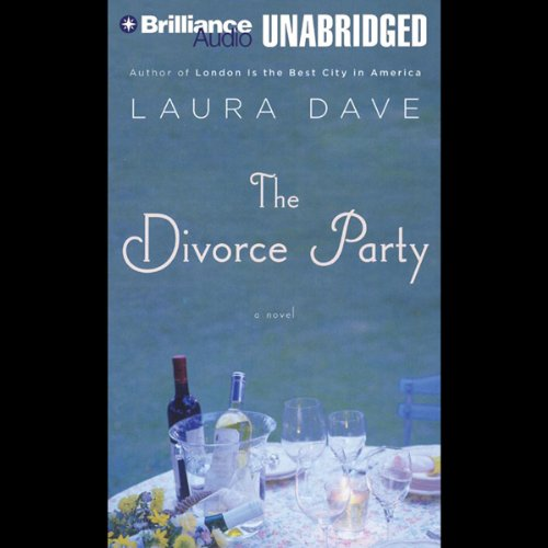 The Divorce Party audiobook cover art