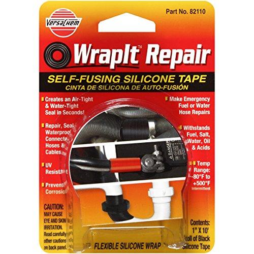 "Price comparison product image Versachem 82110 WrapIt 1"" x 10' Repair Silicone Tape"