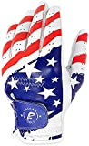 RAULAM INTERNATIONAL USA Flag Golf Glove with Perfect Grip for Men and Women,Golf Gloves American Flag Left Hand-Golf Glove Men Left Hand/Right Hand,Golf Glove Women Left Hand/Right Hand.