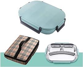 Box Travel,Compartimento de contenedores de Almacenamiento de Alimentos Reutilizables..