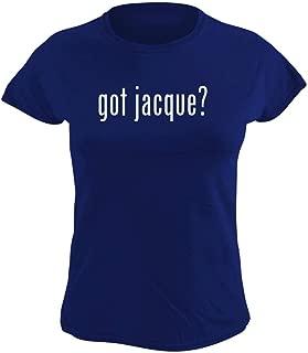 got jacque? - Women's Graphic T-Shirt, Blue, XXX-Large