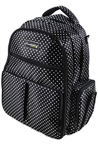 Knuddelstuff 'Buckingham' Baby Diaper Bag Backpack & Organizer System – Insulated...