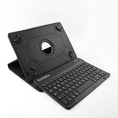 360° drehbare Schutzhülle + Bluetooth Tastatur für 9.7