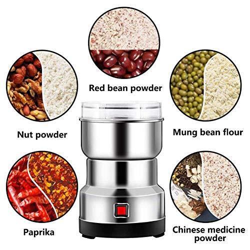 N/H Multifunktions-Smash-Maschine, 550W Elektrische Getreidemühle Multifunktions-Haushaltsmühle Für Kleine Lebensmittel Getreidemühle, Elektrische Mühle Für Coffee Bean Spice Seeds