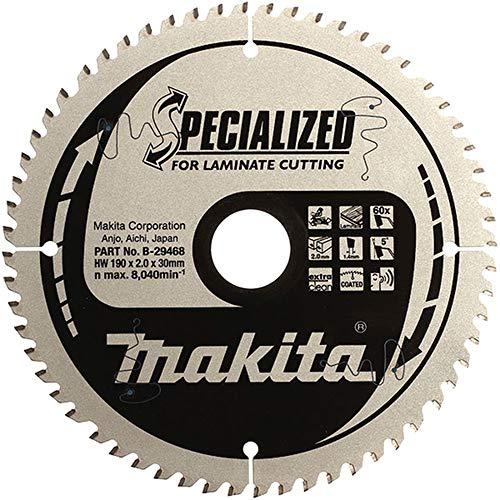 Makita b-29474216x 30x 72T TCT hoja de sierra–Multicolor
