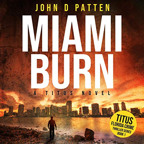 Miami Burn audiobook cover art