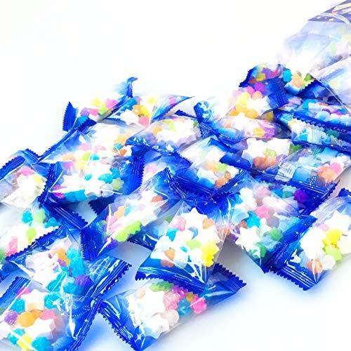 星型ラムネと金平糖 の 小袋 詰合せ 500g(約56袋) お菓子 お配りに 小分け 菓子 おやつ 配る イベント コンペイトウ こんぺいとう