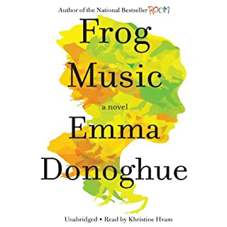 Frog Music audiobook cover art