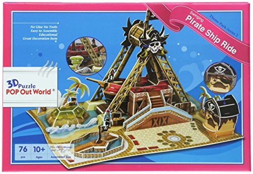Pirate ship swaying 3D three-dimensional puzzle (japan import)