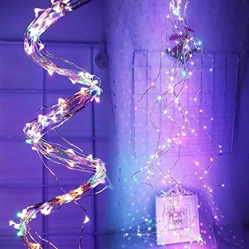 GFSDDS kerstverlichting, led-lichtketting, festivalverlichting, krans, sprookjesbruiloft, Ramadan Diwali, kerstdecoratie, RGB