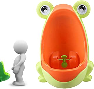Potty Training Boys Hamkaw Frog Boys Potty Toilet Trainning Potty Urinal with Whirling Target
