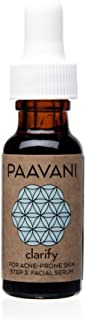 PAAVANI Ayurveda Facial Serum for Acne - 0.5 oz - Certified Organic
