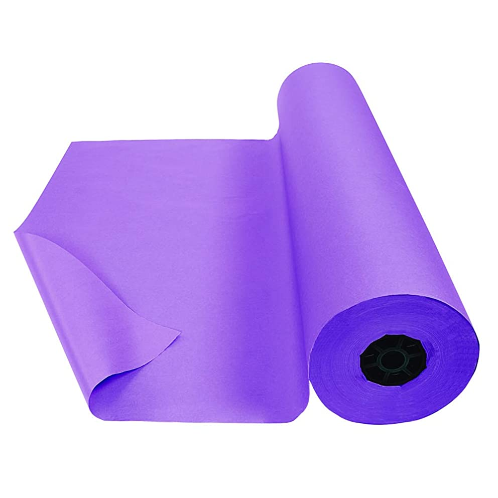 Colorations DSPU Dual Surface Paper Roll, Purple