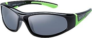 Duco Kids Sports Style Polarized Sunglasses Rubber...
