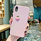 XUETT Mobile Shell pour iPhone XS - Coque Apple en Silicone (Violet)