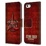 Head Case Designs sous Licence Officielle Star Trek Discovery Klingon en Look Affligé Insignes...