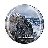 Alpspitz Garmisch-Partenkirchen Deutschland Kühlschrankmagnet Souvenir Geschenk Kristall Magnetsticker Kollektion