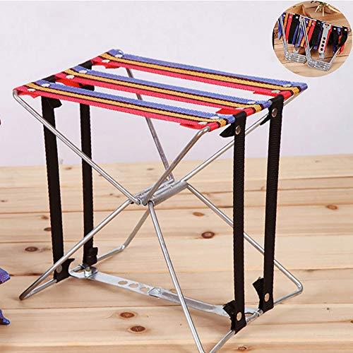 nonbrand Chaise de pêche légère, Chaise Pliante, Tissu Super résistant pour Tabouret de Camping en Plein air, pêche, Tabouret Pliant en Fil de Fer, Taille 23 cm x 17,5 cm x 24 cm (L xlx H)