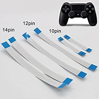 6PCS for Sony PS4 Controller 12 Pin 14 Pin Charging Board Flex Cable 10 Pin Touch Pad Flex Ribbon Cable