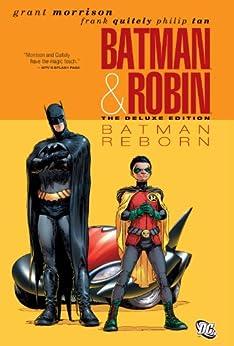 Batman and Robin (2009-2011) Vol. 1: Batman Reborn (Batman by Grant Morrison series Book 7) by [Grant Morrison, Frank Quitely, Philip Tan]