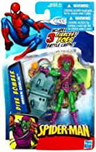 Marvel SpiderMan 2010 Series One 3 3/4 Inch Action Figure Dive Bomber Green Goblin