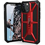 URBAN ARMOR GEAR UAG Designed for iPhone 12 Pro Max Case [6.7-inch Screen] Rugged Lightweight Slim Shockproof Premium Monarch Protective Cover, Crimson