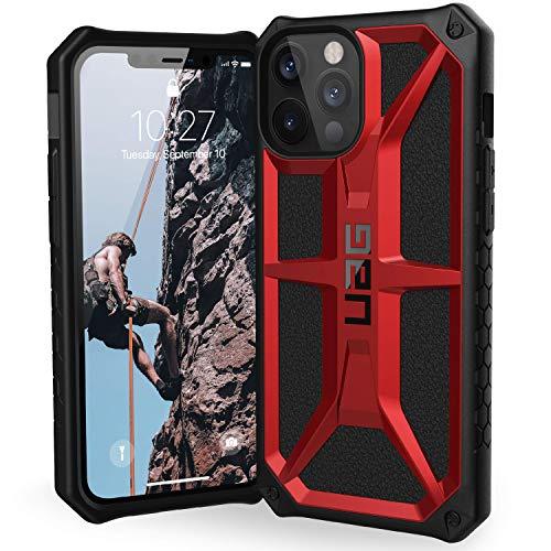 Urban Armor Gear Custodia Antiurto Monarch Iphone 12 Pro Max, Rosso