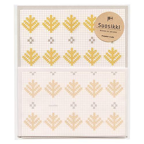 Suosikki/スオシッキ レターセット 【刺繍】 SLS-105
