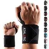 Handgelenkbandage [2er Set] in 45cm / 60cm Länge + Grundübungs Guide - Wrist Wraps fürs...
