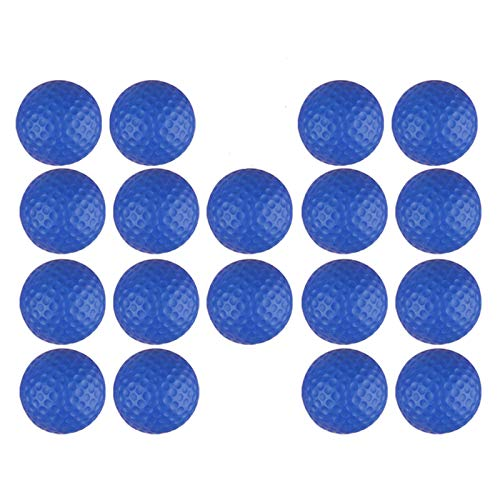 Dsmile Blue Foam Golf Practice Balls 18 Pack Light Soft...