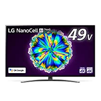 【お買い得】LG 49型 4Kチューナー内蔵 液晶 テレビ 49NANO86JN...