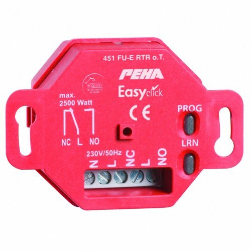 peha Thermostat-Empfäner D 451 FU-E RTR O.T. UP Funk Easyclick Bussystem-Heizungsaktor 4010105312294