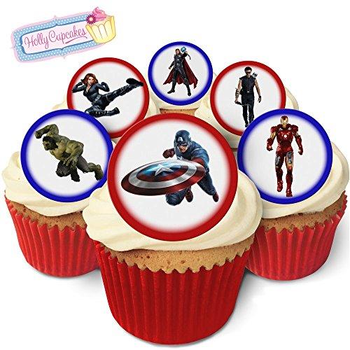 24 Wunderschöne essbare Kuchendekorationen: The Avengers