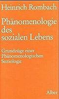 Phaenomenologie des sozialen Lebens: Grundzuege einer Phaenomenologischen Soziologie