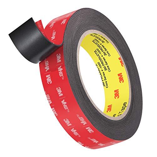 Roseberry Heavy Duty Double Sided Tape, Mounting Waterproof Foam Tape...