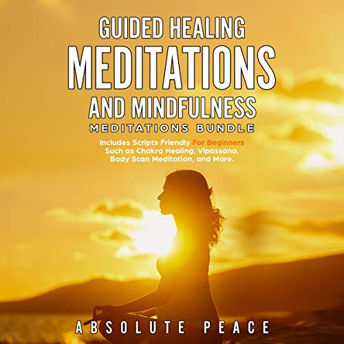 Guided Healing Meditations and Mindfulness Meditations Bundle cover art