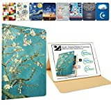 DuraSafe Cases For iPad 4 / iPad 3 / iPad 2 - 9.7 Inch MD510LL/A MD513LL/A MD514LL/A MC705LL/A MD328LL/A MD333LL/A Slim Book Cover with Auto Wake/Sleep Feature - Blossom