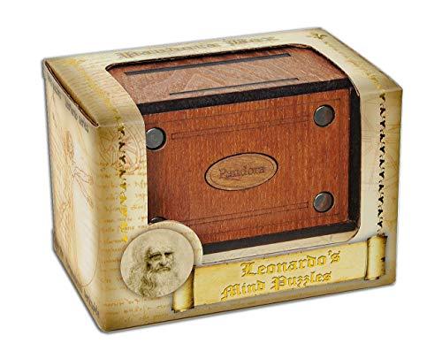Logica Jeux Art. Pandora Box - La Boîte Secrete - Jurgen Reiche Édition - Casse-Tête en Bois Précieux - Coffret Secret - Difficultè 5/6 Incroyable - Collection Leonardo da Vinci