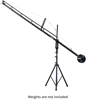 Flyfilms Professional 14ft Film Jib Crane with Stand Boom for Camera Upto 22 lbs for Cinemtographer, Photographer, Film Maker, Video Movie (14ft Jib + Stand)