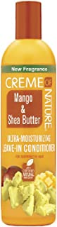 Creme of Nature Mango & Shea Butter Ultra Moisturizing Leave-in Conditioner, 8.45 Ounce (219328)