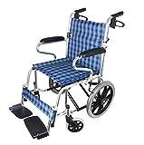 Hyy-yy Silla de rehabilitación médica, Silla de ruedas, Manual de aleación de aluminio de peso ligero plegable silla de ruedas silla de ruedas, sillas de ruedas for minusválidos Pequeño silla de rueda