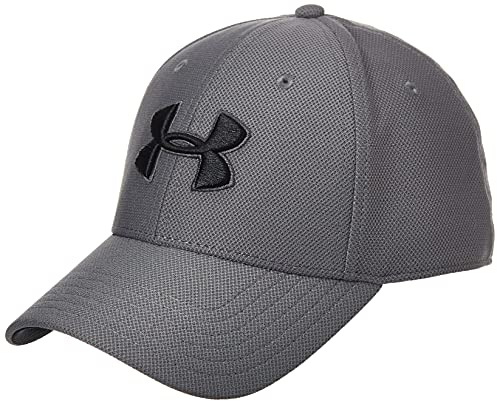 Under Armour Herren Men's Blitzing 3.0 Capatmungsaktive Mütze mit Schirm, Graphite / Black / Black, M/L