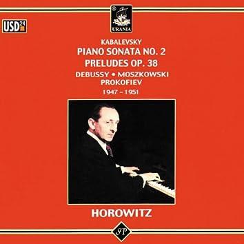 Kabalevsky: Piano Sonata No. 2 - Preludes Op. 38