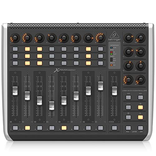 Behringer X-TOUCH COMPACT Control Surface mit Motorized Faders