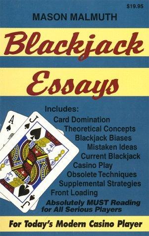 Blackjack Essays by Mason Malmuth (1996-05-02)