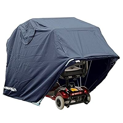 Armadillo Waterproof Outdoor Mobility Scooter Cover Shelter Wheelchair Storage (Medium)