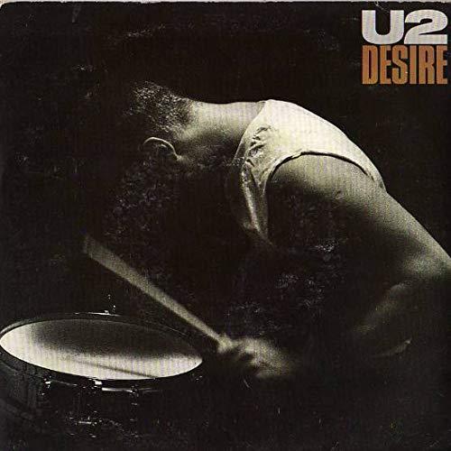 "U2 - Desire - 7"" Single 1988 - Island Records IS 400"