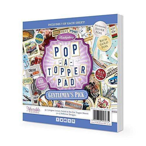 Pop-a-Topper Pad - Gentlemen s Pick