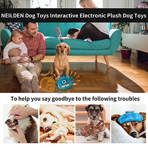 OTTF Die Dritte Generation Der Neuen Automatischen Hundespielzeug Interaktion Plüsch Schnarchen Ball Elektronische Shaking Dog Toy Jumping Ball Great