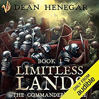 Limitless Lands: The Commander's Tale, a LitRPG adventure cover art